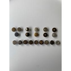 Копче за дънки - метално