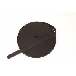 Памучен ширит 20мм черен